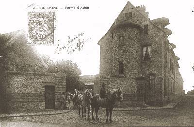 Ferme d'Athis vers 1910
