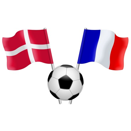 Diffusion du match Danemark / France