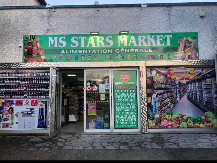 Photographie : MS Stars Market